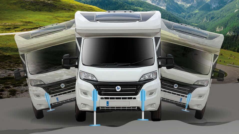 Verin Hydraulique Double Effet Pour Mise A Niveau Camping Car