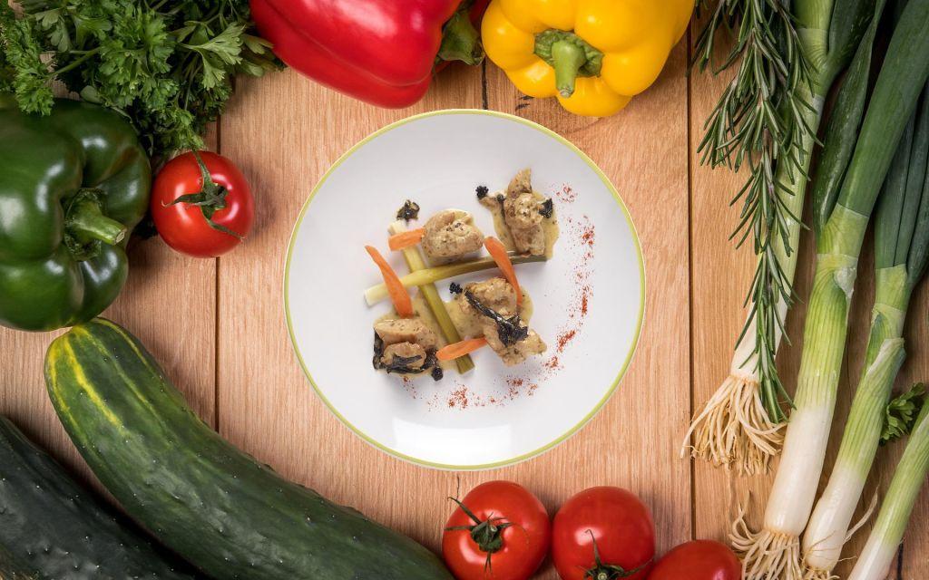 Filet de volaille entre terre et mer plats cuisin s linertek - Plats cuisines en bocaux ...
